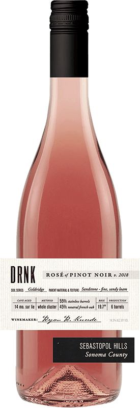 DRNK Wines 2018 Rose