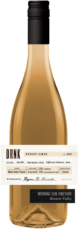 DRNK Wines 2018 Pinot Gris