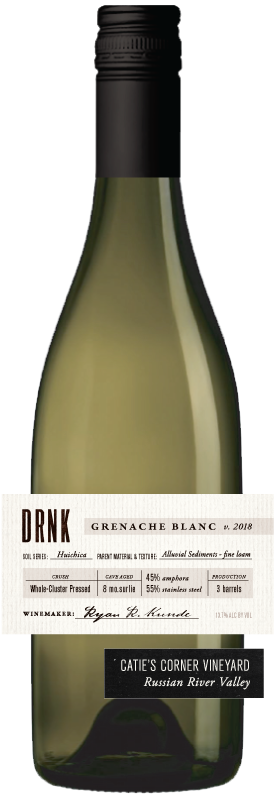 DRNK Wines 2018 Grenache Blanc